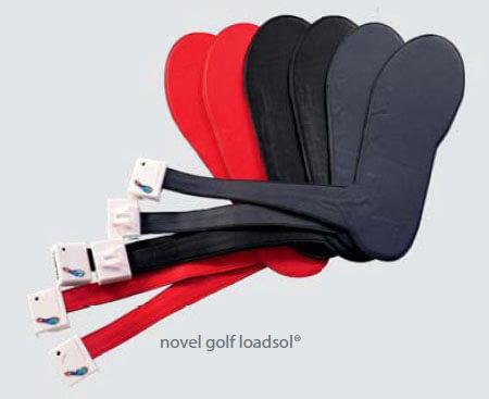 novel golf loadsol - ground force measurement
