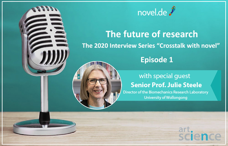 the 2020 novel interview series - Episode 01 -Julie steele | novel.de