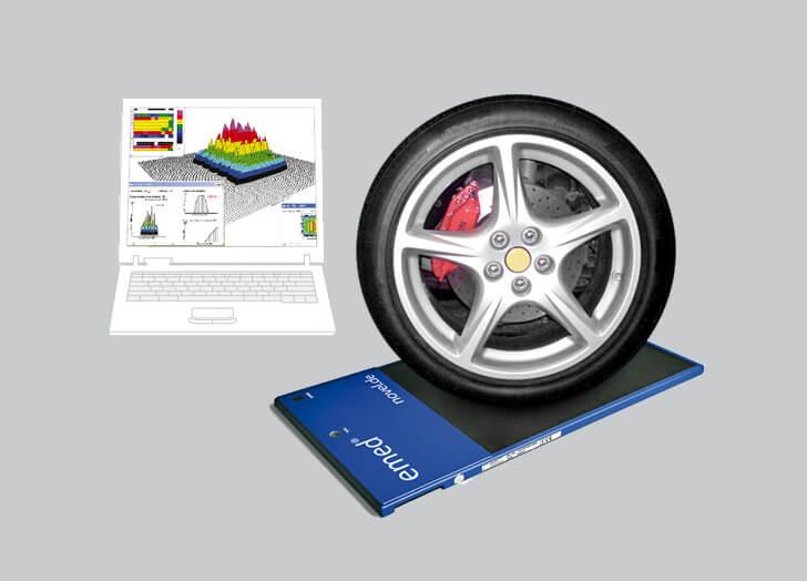 tire optimization - sensor measurement | novel.de