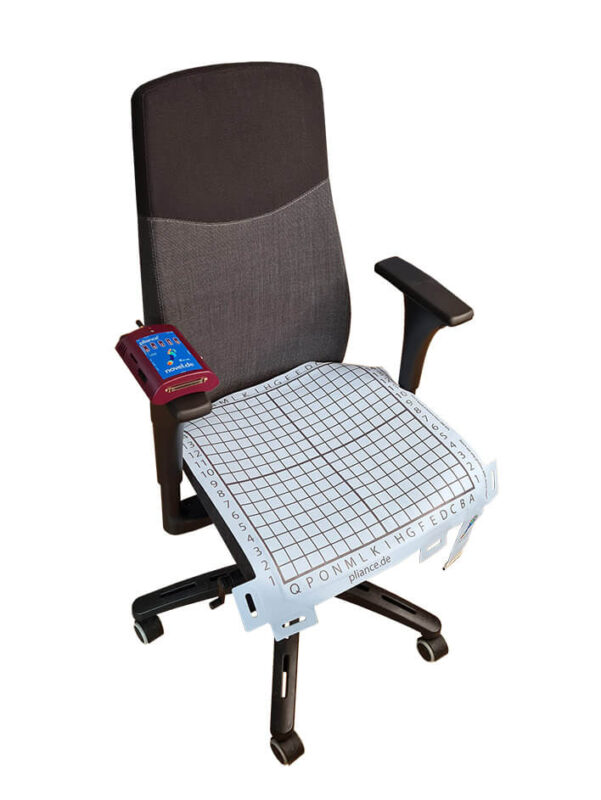 office chair Pressure measurement | Pressure mapping for office chair