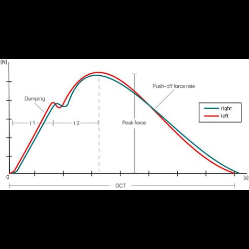 groun reaction force measurement
